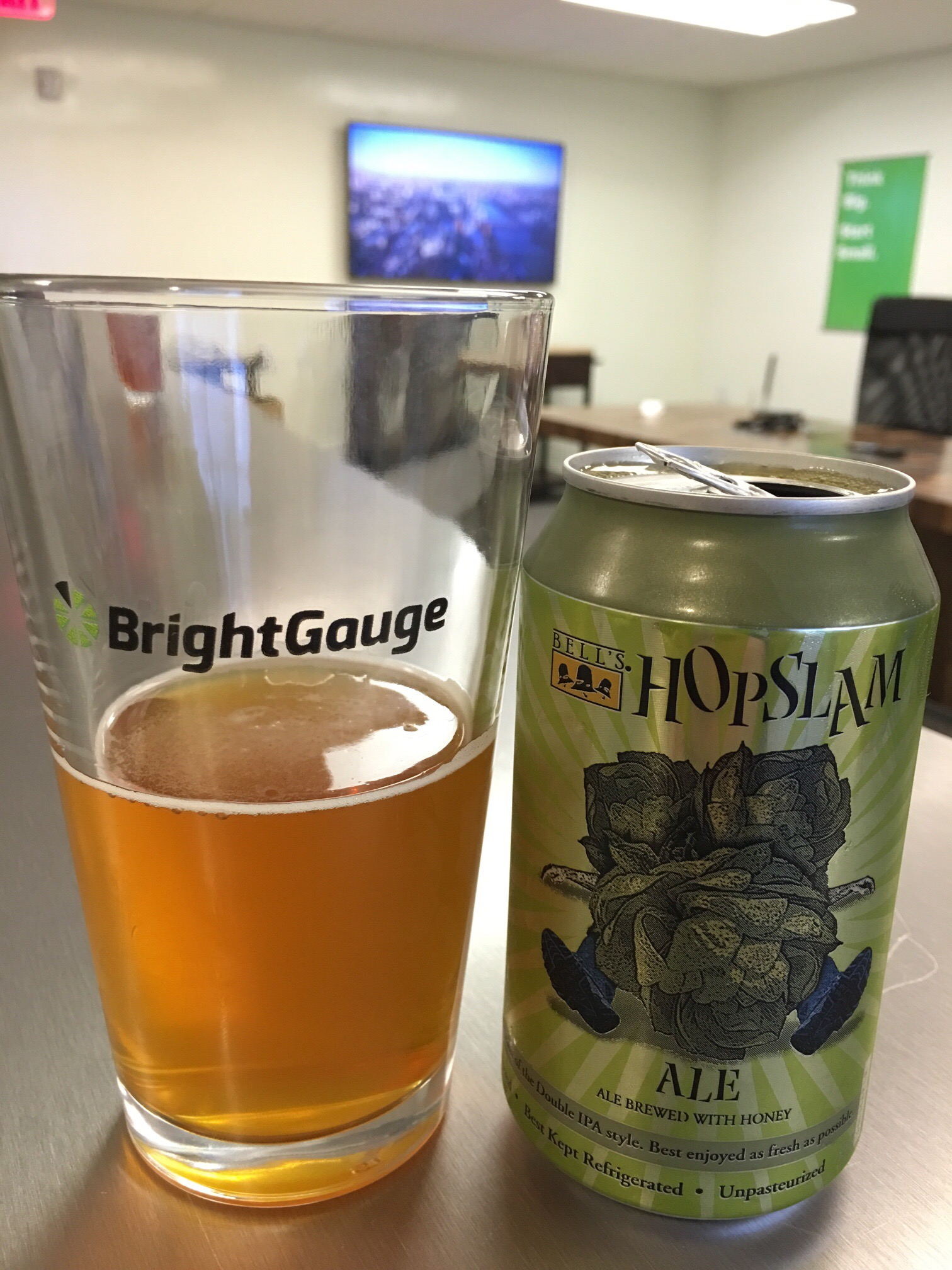 Hopslam happy hour