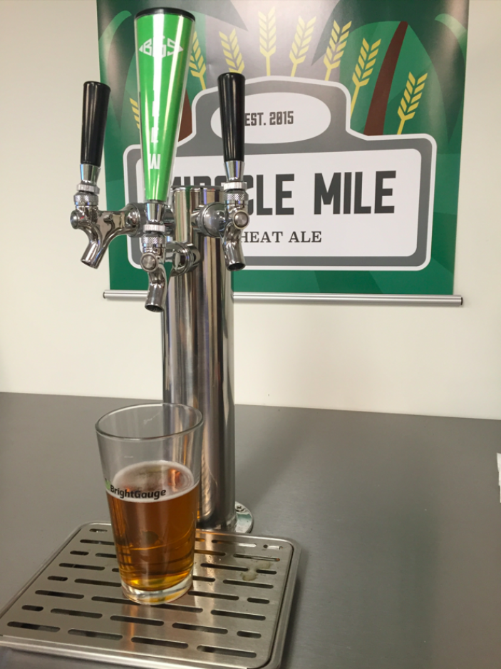 BrightGauge's Miracle Mile Wheat Ale