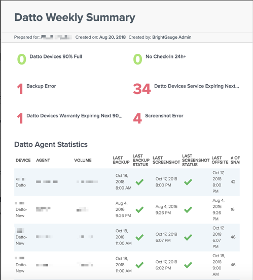 datto report example