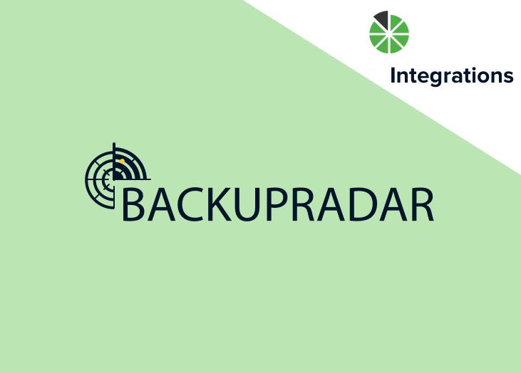 New Integration: Backup Radar